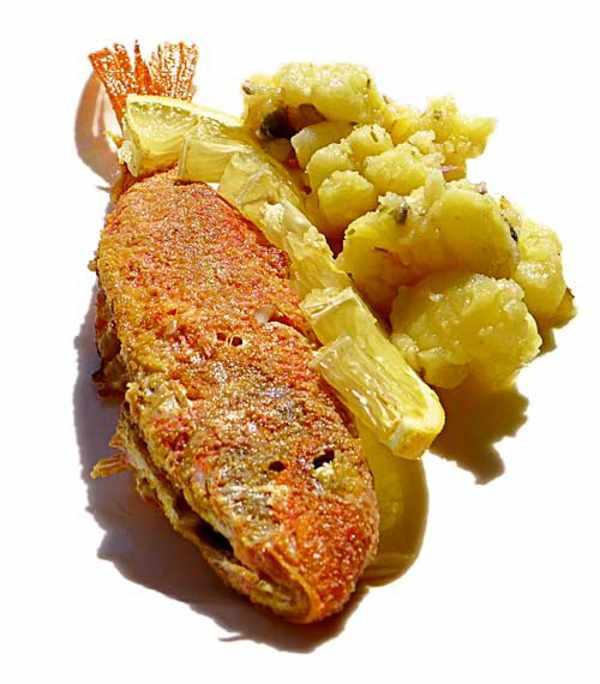 Salmonetes A La Andaluza
