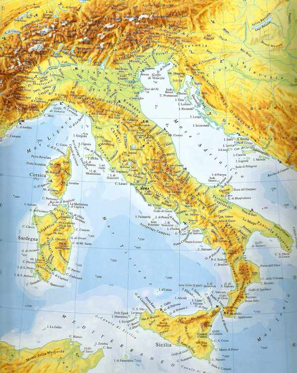 Regiones gastronmicas de Italia